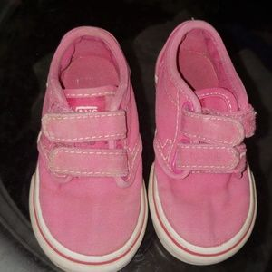 VANS toddler size 6 pink